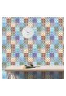 Papel De Parede Autocolante Azulejo Rolo 0,58 X 5M - 0195