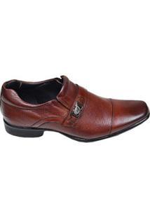 Sapato Masculino Social Cotton Rafarillo Marrom Mogno