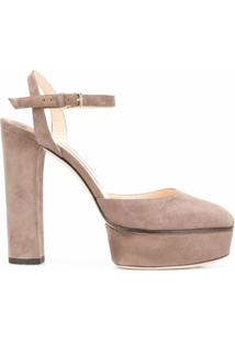 Jimmy Choo Scarpin Maple - Marrom