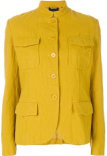 Aspesi Jaqueta Com Abotoamento - Amarelo