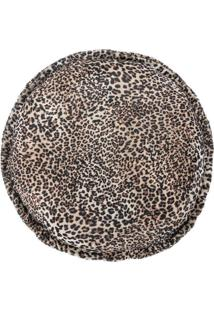 Capa De Almofada Guga Tapetes Redonda Safari Felina