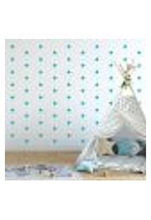 Adesivo Decorativo De Parede - Kit Com 140 Estrelas - 005Kab03