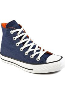 Tênis Converse Chuck Taylor All Star Cano Alto Denim Ct1391