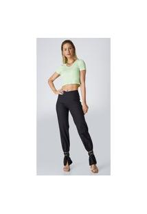 Calça Jeans Express Cintura Alta Social Preto