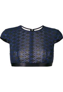 Myla Avery Row Crop Top - Preto