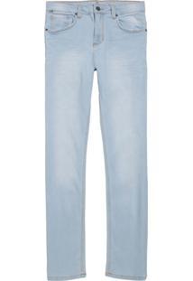 Calça John John Slim Taranto 3D Jeans Azul Masculina (Jeans Claro, 42)