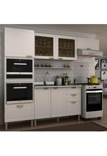 Cozinha Completa 6 Peças Americana Multimóveis 5913Mf Branco