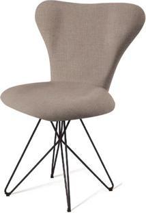 Cadeira Jacobsen Series 7 Cinza Com Base Estrela Preta - 55923 - Sun House