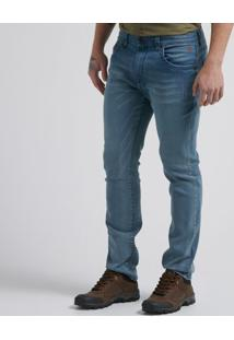Calça Jeans Grey Blue Slim