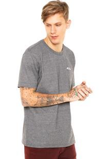 Camiseta New Era Youth Cinza