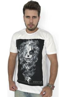 Camiseta Hunter Fumbre Branca