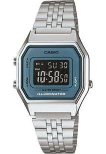 9e48d7db8fd ... Relógio Casio La680Wa-2Bdf - Feminino-Incolor