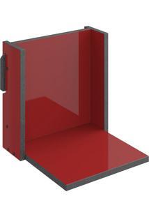 Prateleira Decorativa 29,5 Cm 1005 Mov Vermelho - Bentec