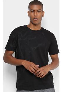 Camiseta Forum Flor Detalhe Lateral Masculina - Masculino