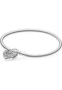 Bracelete Crie & Combine Brasão Do Amor (Fecho Cadeado)