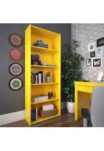 Estante Livreiro/Multiuso Esm 201 Amarelo - Móvel Bento