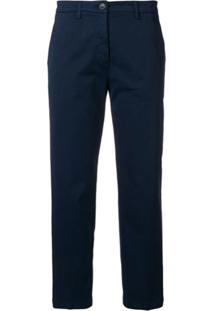 621dd15886 ... Department 5 Calça Chino Cropped - Azul
