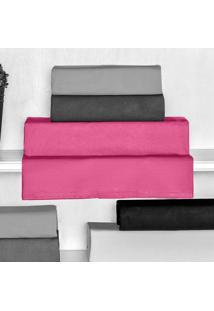Lençol Avulso Casal Palace Pink