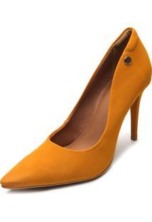 Scarpin Colcci Camurça Amarelo