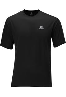 Camiseta Salomon Maculina Moto Tech Preto M