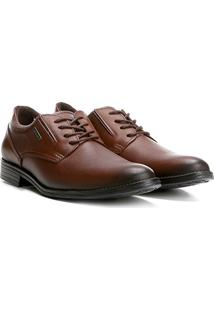 Sapato Social Pegada Masculino - Masculino-Marrom