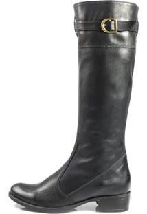 Bota Vegano Shoes Azaleia Preta