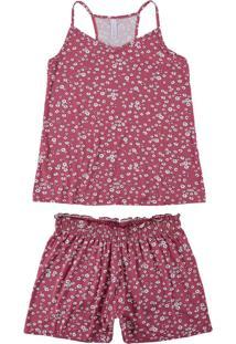 Pijama Rosa Nadador Liberty