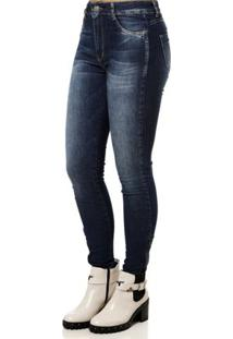 Calça Cintura Media Sawary feminina. Calça Jeans Feminina Sawary Azul f9d70e00324a8