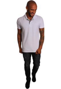 Camiseta Polo Joss Poan Branco