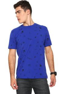 Camiseta Rusty Amphibious Pineapple Azul