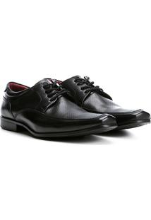 Sapato Social Couro Walkabout Masculino - Masculino-Preto
