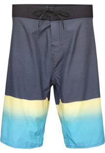 Boardshort Op Sea Masculino - Masculino-Preto+Azul