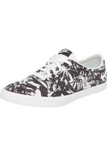 Tênis Nike Sportswear W Mini Sneaker Lace Print Preto/Branco