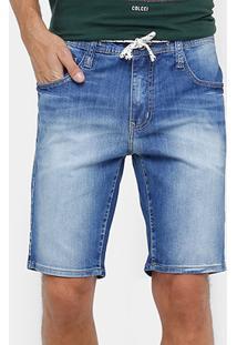 Bermuda Jeans Colcci Indigo Masculina - Masculino
