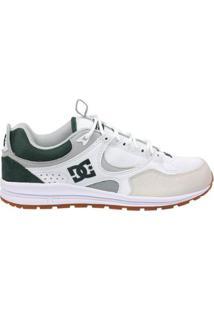 Tênis Dc Shoes Kalis Lite Masculino - Masculino-Branco
