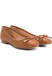 Sapatilha Shoestock Matelassê Novo - Feminino-Caramelo