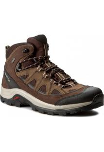 Bota Salomon Masculino Authentic Ltr Gtx Marrom 41