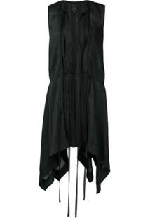 Vera Wang Vestido Mini - Preto