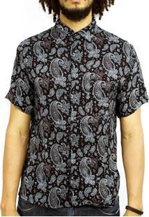 Camisa Andy Roll Clothing Rock Bandage Preta