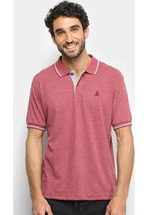 Camisa Polo Broken Rules Masculina - Masculino-Vinho