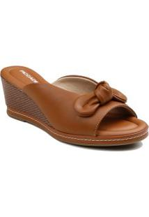 Tamanco Piccadilly Casual Anabela