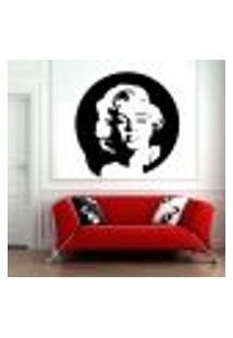 Adesivo De Parede Marilyn Monroe 5 - Pequeno