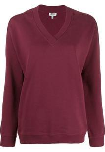 Kenzo Oversized Logo Sweatshirt - Vermelho