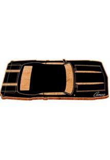 Capacho Carro Camaro View Black Gm Chevrolet