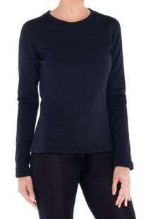 Camiseta Segunda Pele Térmica Thermal Stretch Solo Feminina - Feminino