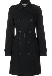 Burberry Trench Coat Sandringham - Preto