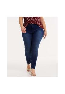 Calça Plus Size Feminina Jeans Skinny Biotipo