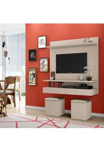 Home Suspenso Para Tv Com Gaveta Pa14 Dalla Costa