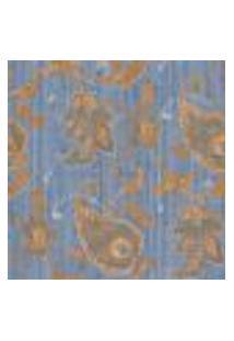Papel De Parede Adesivo Decoração 53X10Cm Azul -W29686