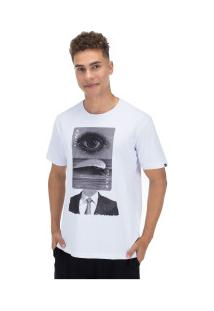 Camiseta O'Neill Estampada Wave Head - Masculina - Branco